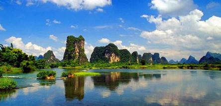 重庆到桂林、阳朔双飞4日游