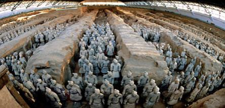 重庆到西安兵马俑、华清池、华山、明城墙双飞