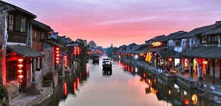 重庆到华东六市、拈花湾小镇、乌镇双飞6日游