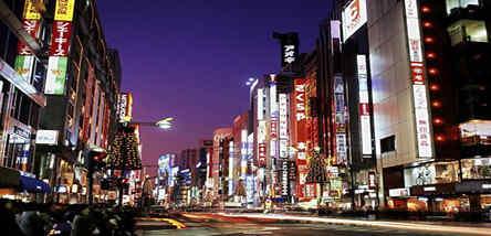 重庆到日本东京、横滨、伊豆河津赏樱6日游