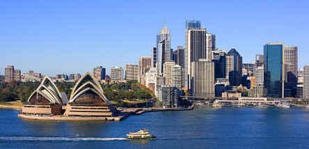 重庆到澳大利亚、新西兰、墨尔本、凯恩斯全景