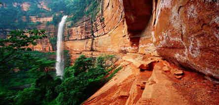 赤水丹霞地貌红石野谷、大同古镇一日游