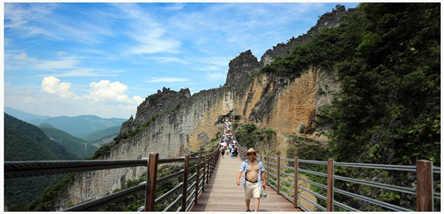 武陵山大裂谷、御泉河(漂流)二日游