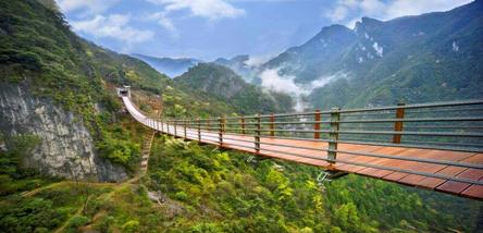 涪陵武陵山大裂谷(816地下核工程)一日游