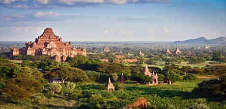 重庆到缅甸曼德勒、蒲甘双飞5日游(周一发团)